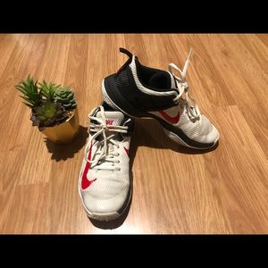 NIKE Zoom Volleyball White/Black/Red Shoes